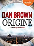 Origine - Livre audio 2 CD MP3 - Audiolib - 29/11/2017
