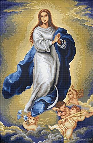Luca-S Immaculate Conception - Juego de Punto de Cruz, diseño de Virgen Inmaculada