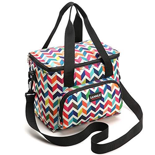 Samerio - Glacière Lunch Bag coloré avec motif, 9L