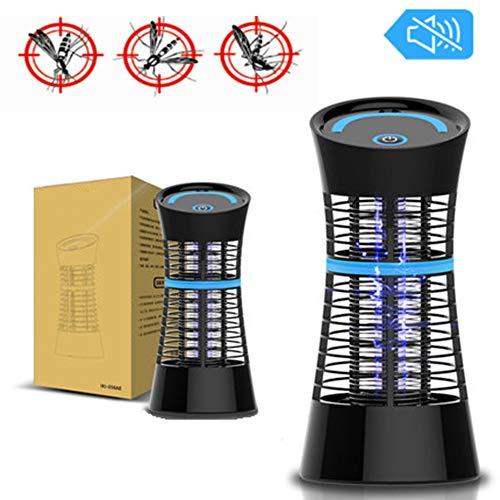 GPFDM LED Elektronische muggenkiller-lamp UV-insectenvliegen-pest-muggenkiller voor binnen en buiten, elektrisch, draagbaar of hangend voor thuis, op reis of patio
