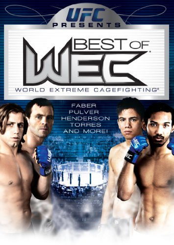 UFC Presents-Best of WEC [DVD] (2010) Urijah Faber; Miguel Torres; Jens Pulver (japan import)
