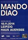 Mando Diao - Blue, Leipzig 2014 » Konzertplakat/Premium