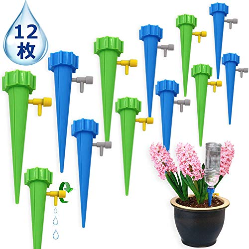 JKR【12個セット】自動給水キャップ 水やり当番...