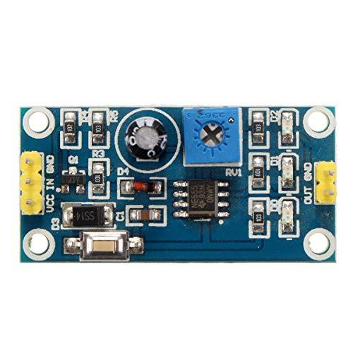 OGUAN Módulo 5-12 V DC Ajustable Interruptor de Tiempo de Retardo de relé NE555 Escudo módulo 5pcs
