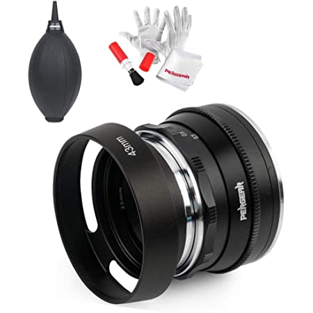 Pergear 35mm F1.6 Manual Focus Prime Fixed Lens for Olympus and ...
