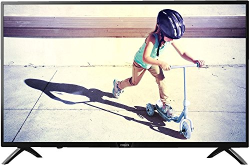 Philips PHS4012 TV LED 32'' 1366 x 768, 16:9, Ultra sottile, Digital Crystal Clear, 250 cd/m², DVB T/C/T2/T2-HD/S/S2 [Esclusiva Amazon.it]