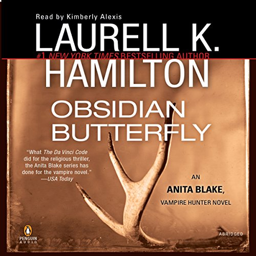 Obsidian Butterfly audiobook cover art