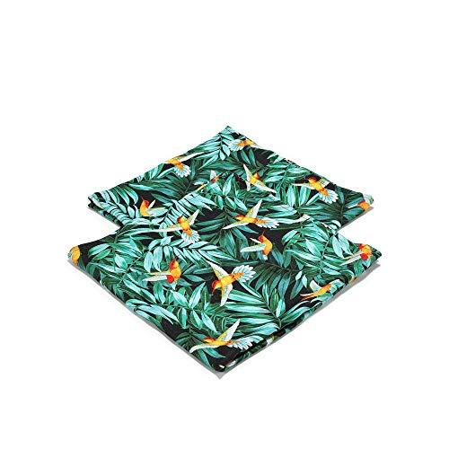 La Millou Colibri & Colibri Wickeltuch, Musselin, klein, 100 % Bambus, 2 Stück