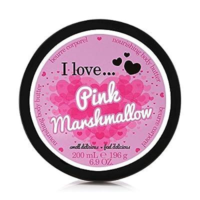 I Love Pink Marshmallow