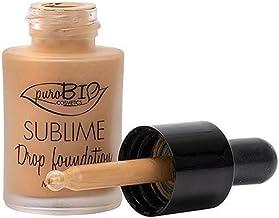 PUROBIO - Sublime Drop Foundation - Base líquida biológica 04 - con extractos de Argan