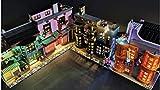 brickled LED Lighting Kit for Lego Diagon Alley 75978 Harry Potter (Lego Set not Included)
