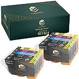 EMBRIIO PGI-5 CLI-8 10x Cartuchos de Tinta Reemplazo para Canon Pixma iP4200 iP4300 iP4500 iP5200 iP5200R iP5300 MP500 MP600 MP600R MP610 MP800 MP800R MP810 MP830 MX850