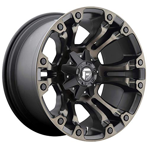 Fuel D56918908257 18x9 Vapor 8x6.5 MBT5.75 20 125.2 Wheel