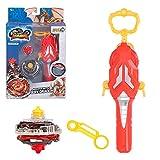 Infinity Nado - Peonza 5 Fiery Dragon con lanzador magnético (85364)