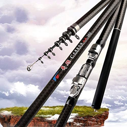 WUZHONGDIAN 2.7m 3.6M 4.5M 5.4M 6.3M Fishing M Rod Spinning Challenge the lowest price of Japan Limited time sale Powe