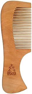 'Christmas Tree & Penguins' Wooden Comb (HA00029664)