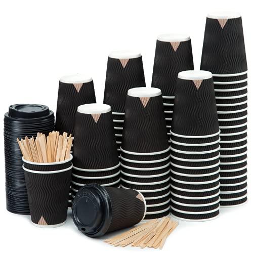 Vasos Cafe Con Tapa Marca CupCup
