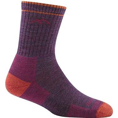Darn Tough Hiker Micro Crew Cushion Socks - Women's Plum Heather Medium
