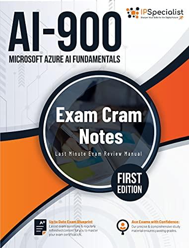 AI-900: Microsoft Azure AI Fundamentals: Exam Cram Notes - First Edition (English Edition)