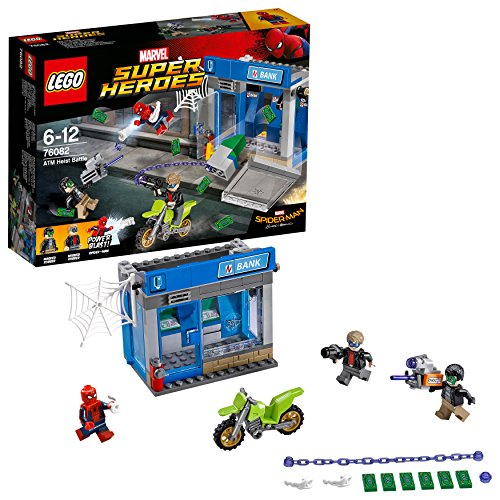 LEGO Marvel Super Heroes 76082 - Action am Geldautomaten, Superhelden-Spielzeug