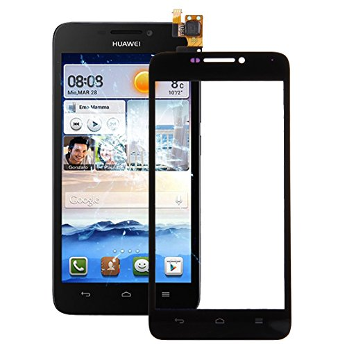 IPartsBuy for Huawei Ascend G630 Touchscreen Digitizer Assembly Zubehör Abnehmbare Ersatz (Color : Black)