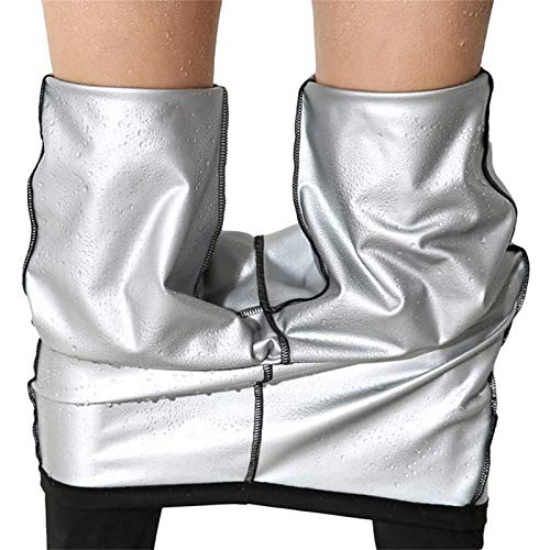 LQQSD Pantalones De Sauna para Mujer, Mallas Térmicas para Perder Peso, Moldeadores De Grasa, Quemador De Grasa, Sudor Caliente, Moldeador De Cuerpo, Pantalones De Entrenamiento