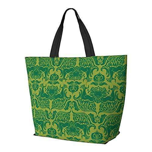 I Love Craft Cthulhu - Bolsa de hombro multifuncional de gran capacidad, bolsa de trabajo, ligera, bolsa de viaje, bolsa de playa para mujer