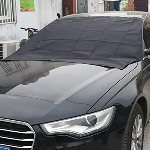 Auto Frostschutz Abdeckung Magnetische Auto Windschutzscheibe Abdeckung Frost EIS Schnee Staubschutz Sonnenschutz BK