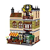 LON 1367 Uds Creador de Bloques de construcción de Arquitectura City Street View Ladrillos Regalos para niños Set Summer Coffee Shop Hill Tavern Toy
