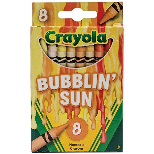 Crayola Meltdown Crayons (8 Pack), Bubblin Sun