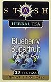 Blueberry Superfruit Herbal Tea Stash Tea 20...