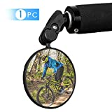 WESTLIGHT Bar End Bike Mirrors,360°Adjustable Rotatable Handlebar Convex Mirror for Mountain Road Bicycle...