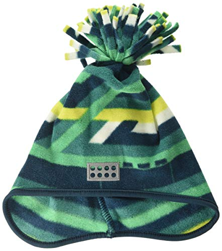 Lego Wear Lego Duplo Lwaustin 708-Fleecemütze Bonnet, Multicolore (Dark Green 875), 47/49 (Taille Fabricant: 48) Mixte bébé