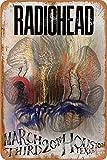 Cimily Radiohead Poster Zinn Retro Zeichen Vintage Poster