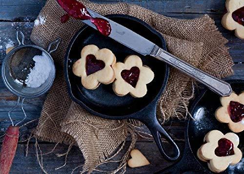 Valentinstag Kekse Kekse Marmelade 1000 Puzzle Kinder Lernspielzeug Herausforderung Brainpower Holzpuzzles