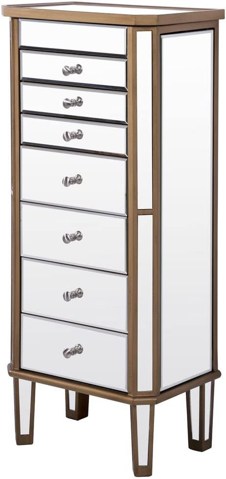 Max 42% OFF Decor Max 76% OFF Central 7 Drawers 2 Doors Armoire Rubbe Hand Jewelry 18