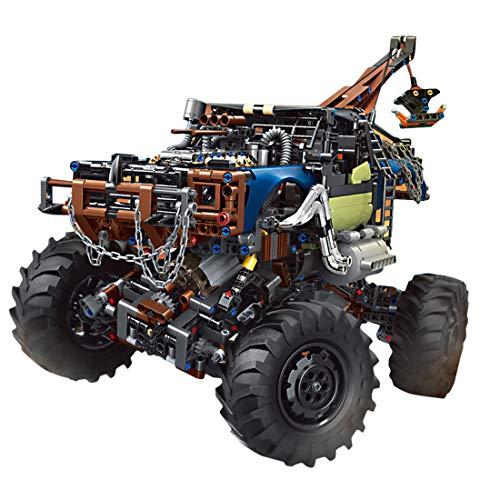 HYZM Technik Dune Buggy Bausteine, 1507 Klemmbausteine 2.4G Dual Ferngesteuert Geländewagen Offroader mit Motoren, Kompatibel mit Lego Technic