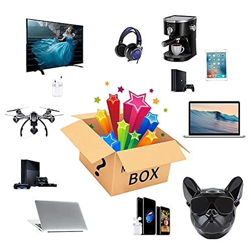 Mysteriöse Schachtel, Elektronische Überraschungspaket,Zu Öffnen Wie Intelligente Uhren Gamepads Digitalkameras Und Lautsprecher Mehr So Viel Wie Möglich Alles Mögliche,Schwarz