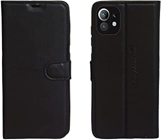 Kaiyue Flip Leather Case Cover Camera Protection For Xiaomi Mi 11 Lite - Black