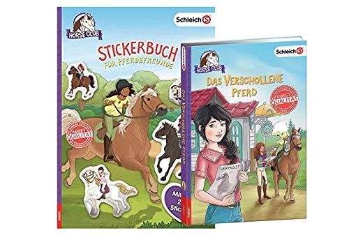AMEET SCHLEICH® Horse Club - Das verschollene Pferd + Stickerbuch für Pferdefreunde, für kleine Pferdfans