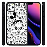 DISNEY COLLECTION Phone Case for iPhone 11 Pro Max (6.5 Inch) Comic Mickey Mouse Tire Skid Shock Proof Slim Light Rubber Bumper Cartoon Cute iPhone 11 Pro Max Cover