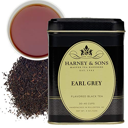 Harney & Sons Black Loose Leaf Tea, Earl Grey, 4 Ounce