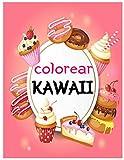 Kawaii libro de colorear: Más de 50 libros para colorear al estilo japonés para adultos y niños. Rel...