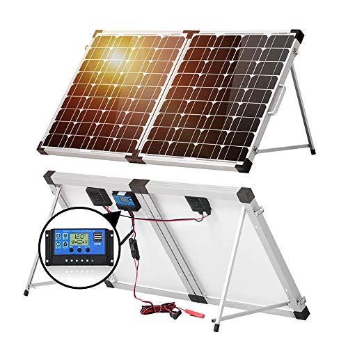 DOKIO 100w(50x2) 12v Monocrystalline Foldable Solar Panel review