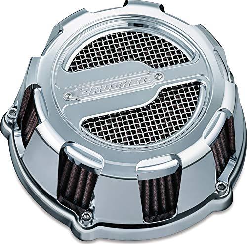 Kuryakyn 9889 Crusher Maverick Air Cleaner/Filter Kit for 1999-2017 Harley-Davidson Twin Cam, Delphi EFI Motorcycles, Chrome