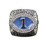 Fei Fei NCAA 2011 Auburn University Tigers Fans Memorial Collection Campeonato Anillo, Anillo Universitario Réplica Tamaño 11#, Anillos para Hombres Y Mujeres,with Box,11