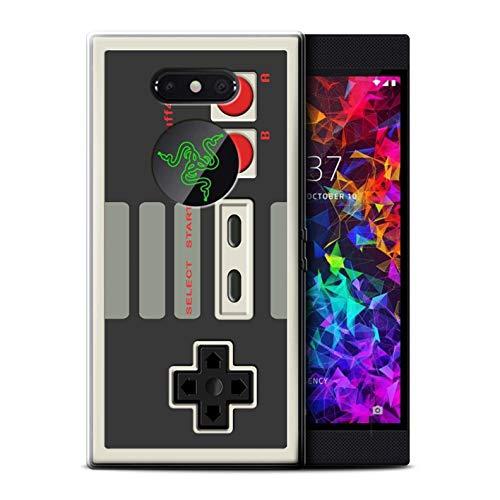 Hülle Für Razer Phone 2 Spielkonsolen Klassisches Nintendo Design Transparent Dünn Flexibel Silikon Gel/TPU Schutz Handyhülle Case