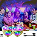 2-Pack KisMee LED Disco Lights