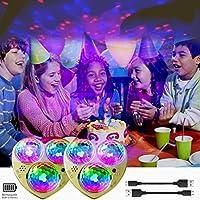 2-Pack KisMee LED Disco Lights