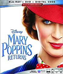 Mary Poppins Returns on Digital March 12 and on 4K Ultra HD, Blu-ray, DVD March 19 from Disney